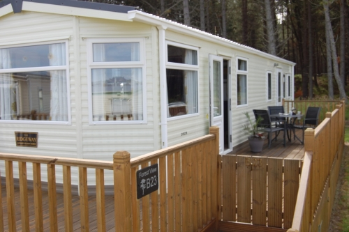 Forest View - Burghead. Static Caravan